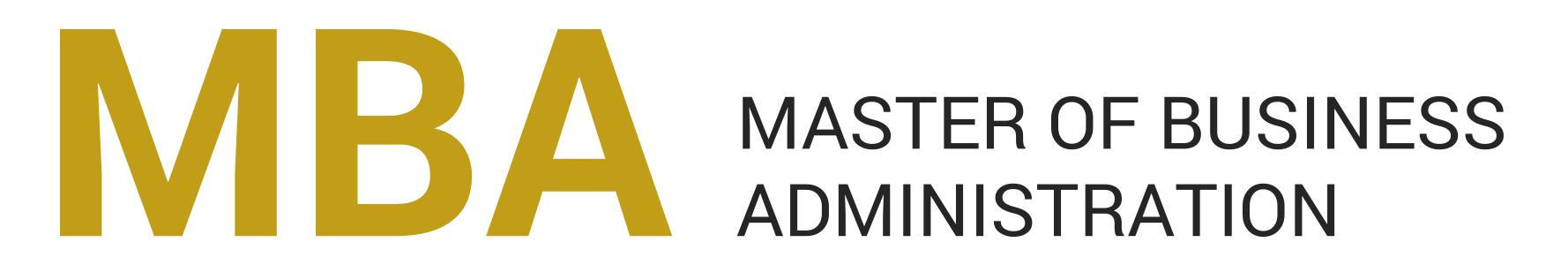 MBA - nazwa - grafika