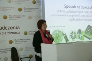 Rektor ZPSB prof. Aneta Zelek