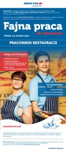 pracownik restauracji